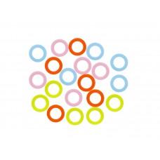 Пластмассовые кольца 14 мм, набор