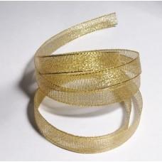 Лента золотистая, 10  мм