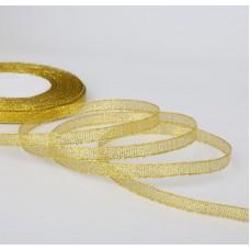 Лента золотистая, 6  мм