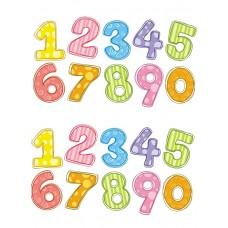 Цифры 0-9. Сублимационная печать