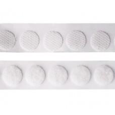 Набор круглых липучек с липким слоем 13 мм, 1000 шт