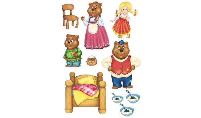 Сказки из фетра маша и медведи