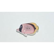 Пуговица Рыба плоская, 1 шт.