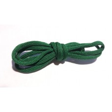 Шнур вязаный зеленый