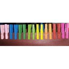 Цветные прищепки мини, 16 шт.