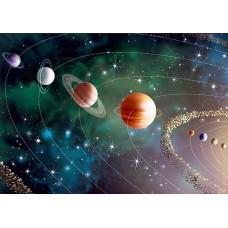 """Велкроткань с рисунком """"Планеты солнечной системы"""""""