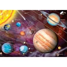 """Велкроткань с рисунком """"Планеты солнечной системы для детей"""""""