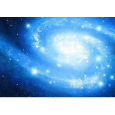"""Велкроткань с рисунком """"Галактика"""""""