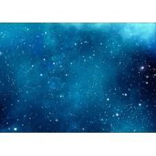 """Велкроткань с рисунком """"Космос"""""""