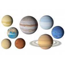 "Фетр с рисунком ""Планеты 2"""