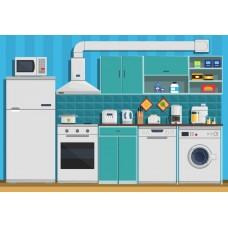 Кухня из фетра -сублимационная печать