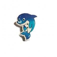 Пуговица Дельфин, 1 шт.