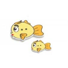 Пуговицы Рыбки (Мама и малыш)